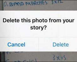 چطور می توان عکس ها را از اینستاگرام استوری حذف کرد؟