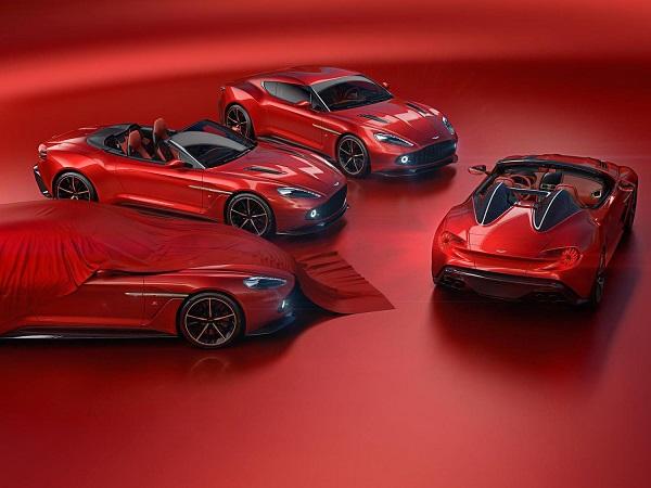ونکوئیش در چهار مدل زیبا و لوکس جدید توسط آستون مارتین و زاگاتو رونمایی شد