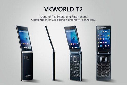 وی کی ورلد تی ۲ پلاس، اولین گوشی تاشو ساخته شده با بدنهای از جنس آلیاژ تیتانیوم!