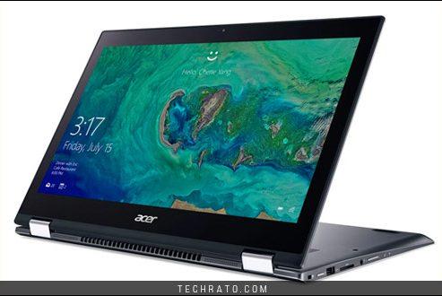 لپ تاپ اسپین ۵ ایسر در نمایشگاه IFA 2017 مجهز به پردازنده های نسل هشتم اینتل شد