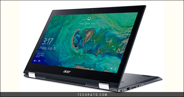 لپ تاپ اسپین 5 ایسر در نمایشگاه IFA 2017 مجهز به پردازنده های نسل هشتم اینتل شد