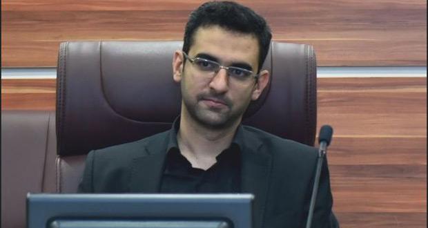 محمد جواد آذری جهرمی ، وزیر فناوری اطلاعات شروع به کار کرد