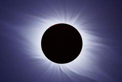 شکل هاله خورشید در کسوف ۳۰مرداد؛ خورشیدگرفتگی