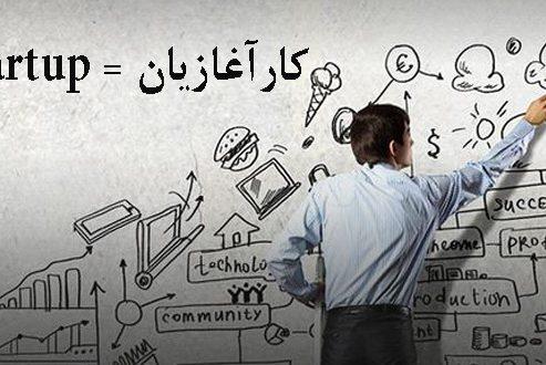 انتخاب واژه کارآغازیان به عنوان معادل فارسی استارتاپ