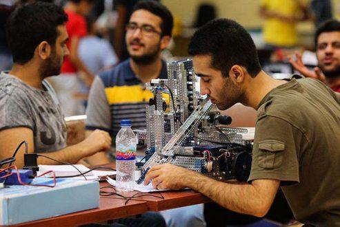مسابقات بین المللی ربات پرتاب دیسک و حضور تیم دانشگاه شریف