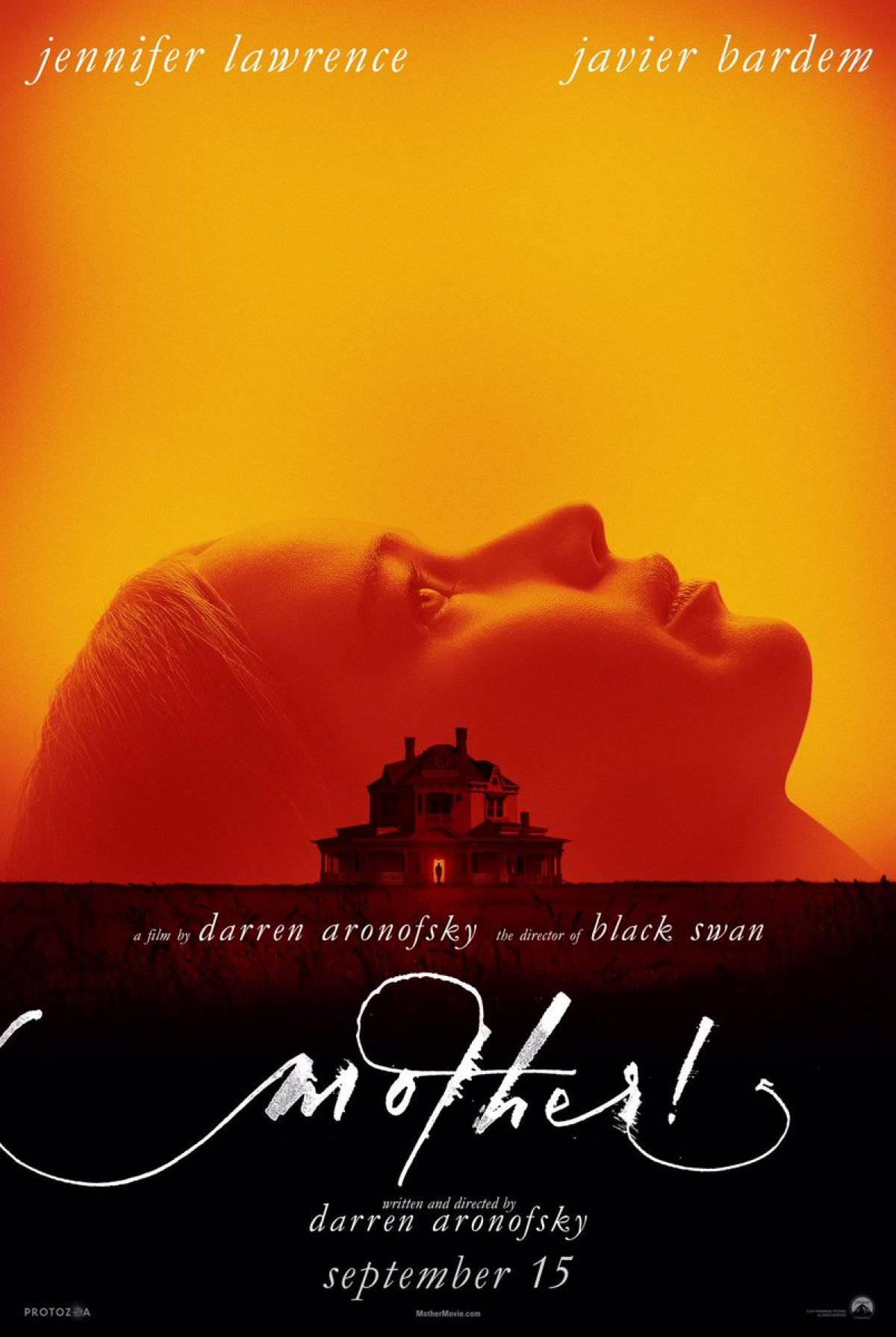 پوستر فیلم مادر! دارن آرونوفسکی