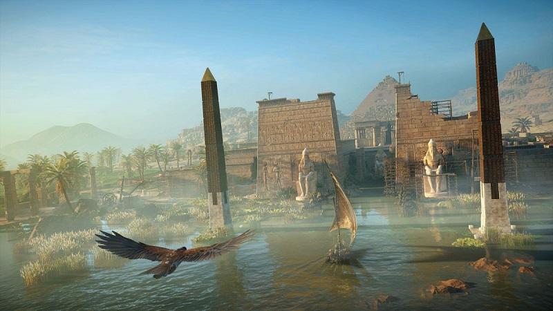 شهرهای کوچکی نیز به تصویر کشیده شده اند؛ مثل شهرهای Fayoum و Siwa که شهر اصلی بازی را احاطه می کنند.