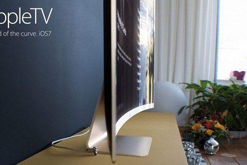 تلویزیون 60 اینچی اولد اپل در تصویر جدیدی خودنمایی کرد