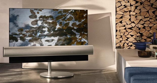 الجی و B&O برای ساخت یک تلویزیون OLED مسحورکننده با یکدیگر همکاری میکنند