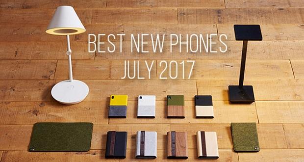 بهترین گوشی های هوشمند معرفی شده در ماه جولای 2017