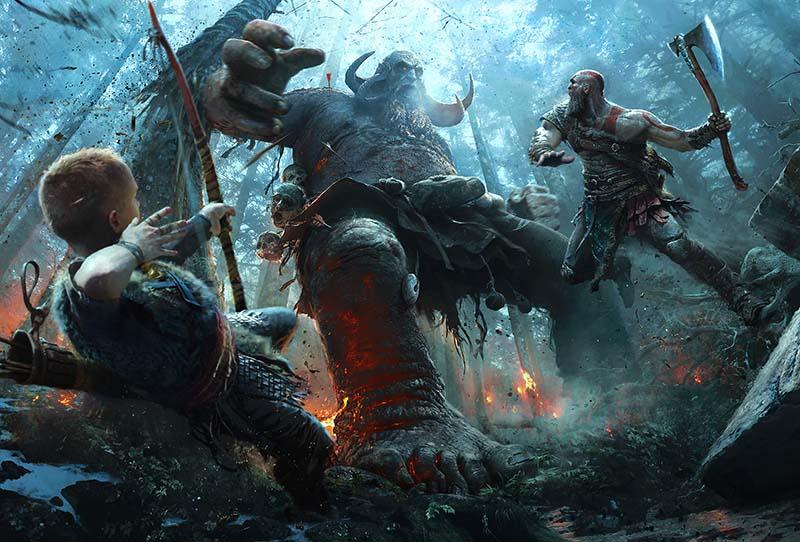 God of War یکی از بهترین بازی های PS4