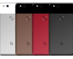 رندرهای موبایل گوگل پیکسل 2