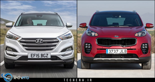 مقایسه هیوندای توسان و کیا اسپورتیج مدل سال 2017 ، دو شاسی بلند سایز کوچک مناسب