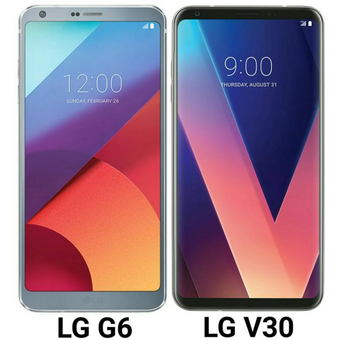 الجی وی 30 و الجی جی 6