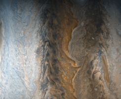 تصویر جدیدی از سیاره مشتری با زیبایی خود جهان را مسحور کرد