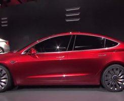 7 نکته جالب در مورد خودروی الکتریکی تسلا مدل 3!