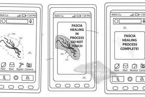 پتنت جدید موتورولا؛ گوشی هوشمندی با نمایشگر خود ترمیم