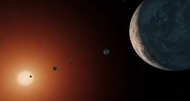 تراپیست-1 دو برابر خورشید سن دارد