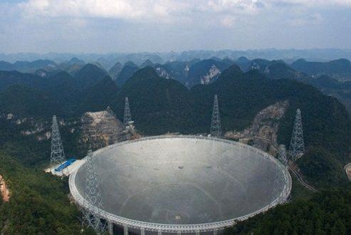 پیشنهاد بیش از ۱ میلیون دلاری چین برای راهاندازی بزرگترین تلسکوپ رادیویی جهان