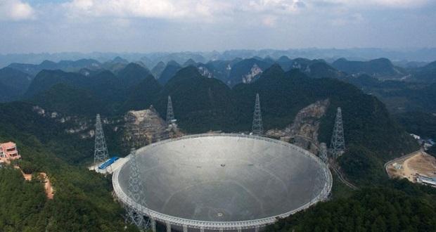 پیشنهاد بیش از ۱ میلیون دلاری چین برای راه اندازی بزرگ ترین تلسکوپ رادیویی جهان