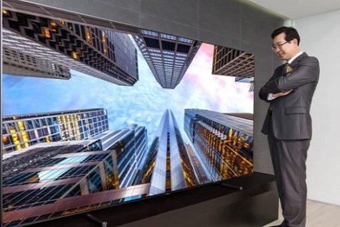 تلویزیون ۸۸ اینچی کیولد سامسونگ عرضه شد