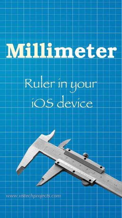 اپلیکیشن اندازه گیری Millimeter
