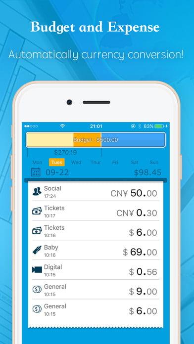 اپلیکیشن ردیابی هزینه ها و بودجه بندی Budget and expense tracking