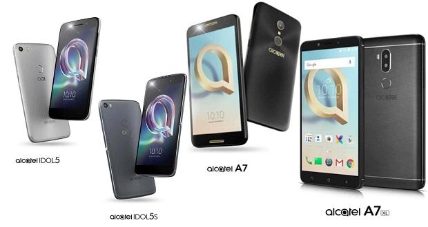 جزییات مختصری در مورد گوشیهای آلکاتل آیدل 5 اس، آیدل 5، ای 7 ایکس ال و ای 7