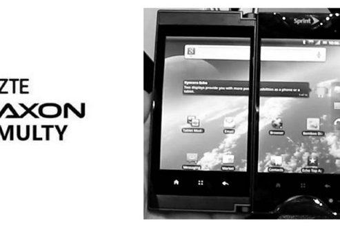 آکسون مولتی زد تی ای با یک نمایشگر دوگانه توسط ای تی اند تی عرضه میشود