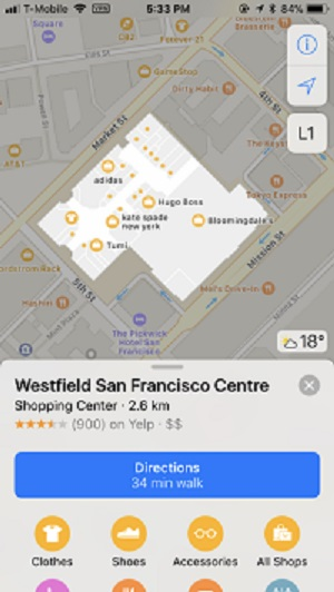 ویژگیهای جدید اپل مپس (Apple Maps) در آی او اس 11