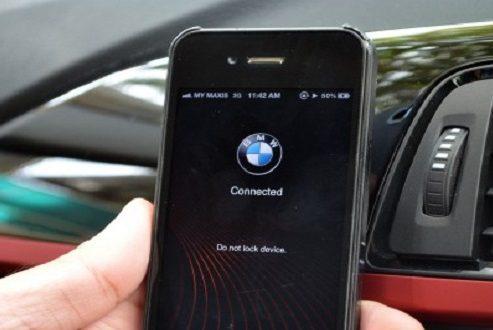 اپلیکیشنهای موبایل بی ام و به زودی جایگزین سوئیچ خودرو این سازنده میشوند