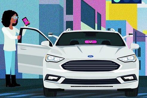فورد و لیفت در کنار یکدیگر خودروی خودران میسازند؛ یک همکاری دوجانبه!