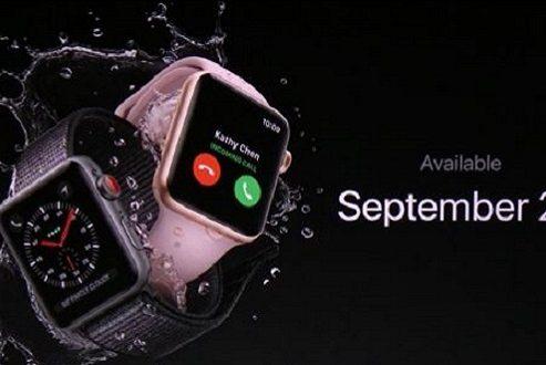 قیمت و تاریخ عرضه ساعت هوشمند اپل واچ ۳ مشخص شد!