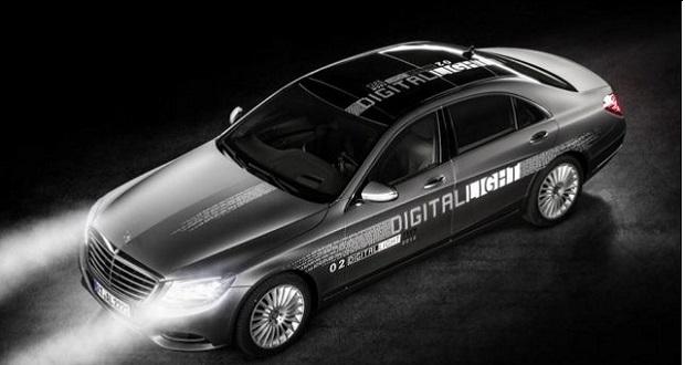 چراغهای هوشمند جدید مرسدس بنز چشمان رانندگان مقابل را اذیت نمیکنند!