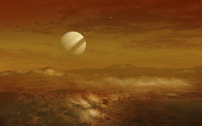 تصویر هنری از سطح یخی قمر اروپا. آرتور سی کلارک نویسنده شهیر پیشبینی کرده بود که قمر اروپا ممکن است، مکان مناسبی برای زندگی باشد. این نویسنده شهیر داستانهای علمی تخیلی در رمان « 2010: ادیسه فضایی دوم»، این ایده را مطرح کرده بود