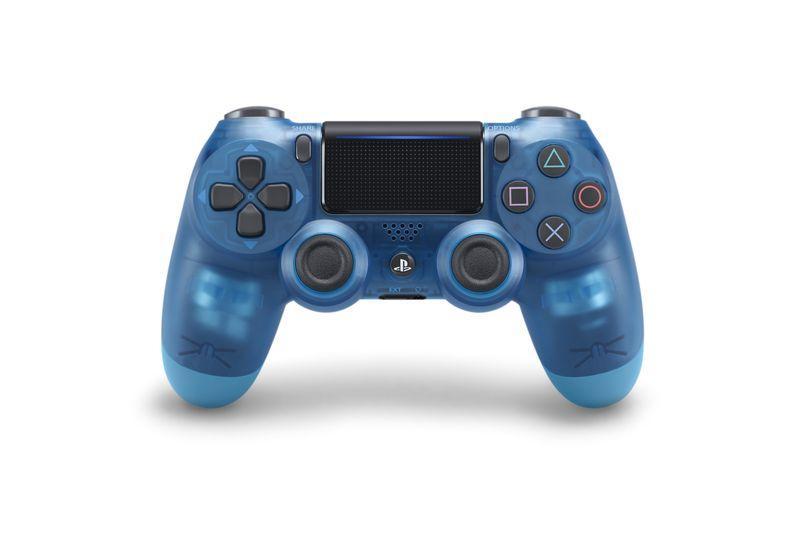 کنترلر کریستالی آبی رنگ پلی استیشن 4