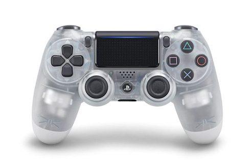 سونی کنترلرهای کریستالی دوال شاک ۴ را برای PS4 عرضه خواهد کرد