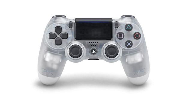 سونی کنترلرهای کریستالی دوال شاک 4 را برای PS4 عرضه خواهد کرد