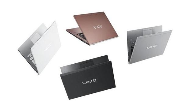 برند ژاپنی VAIO از 3 نوت بوک سری اس جدید رونمایی کرد