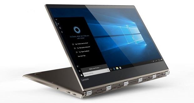 لپ تاپ هیبریدی لنوو یوگا 920 در نمایشگاه ایفا 2017؛ قدرتنمایی هشتمین نسل از پردازندههای اینتل
