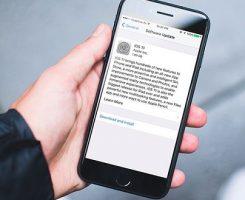 آموزش دانلود و نصب آی او اس 11 در گوشی های آیفون