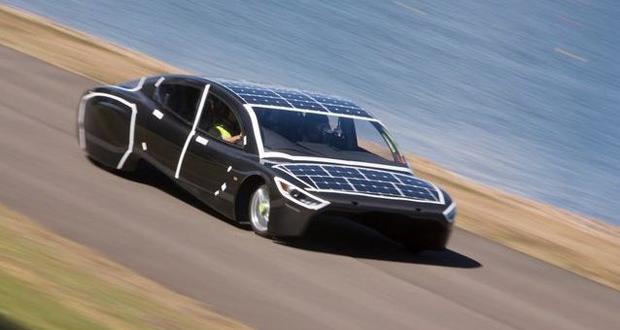 ساخت خودروی خورشیدی که مصرفی برابر با یک توستر دارد!