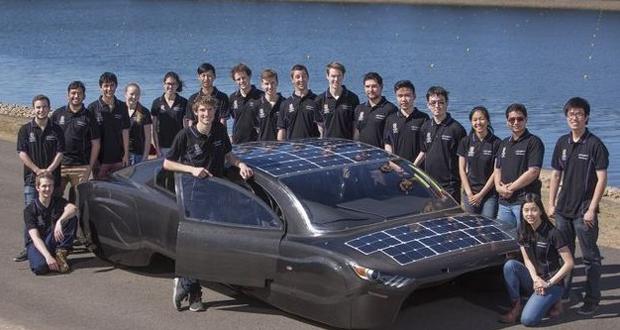 بررسی ساخت خودروی خورشیدی کم مصرف