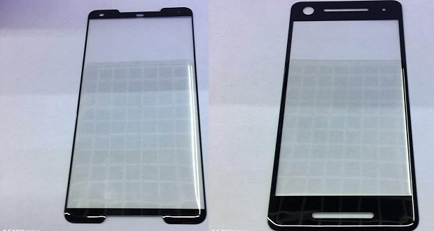 تصاویری از محافظ نمایشگر گوگل پیکسل 2 و پیکسل 2 ایکس ال منتشر شد