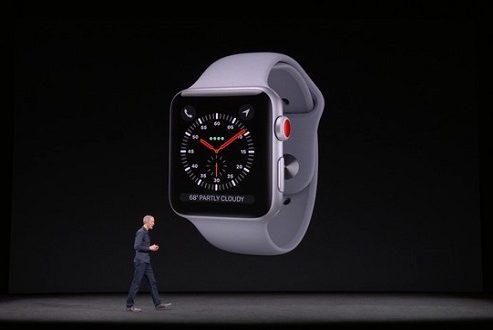 اپل واچ ۳ رسما معرفی شد