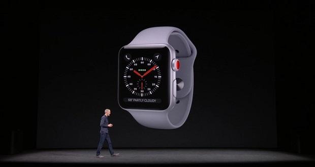 اپل واچ 3 معرفی شد