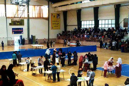 مسابقات لکوکاپ دانش آموزی در ساری برگزار شد
