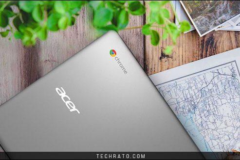 معرفی  لپ تاپ کروم بوک ۱۵ ایسر ، نمونهای با عمر باتری ۱۲ ساعته