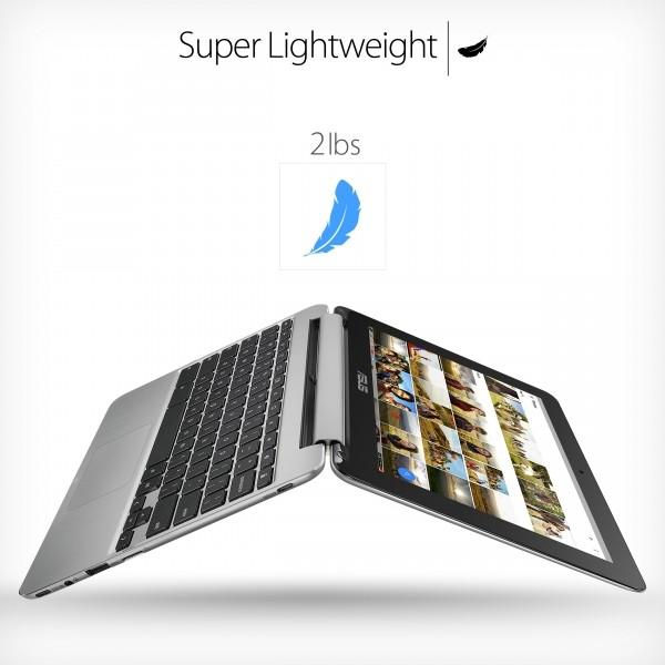 لپ تاپ ایسوس کروم بوک فلیپ سی 101 از اپلیکیشن های اندرویدی پشتیبانی می کند؛