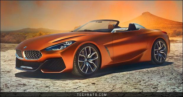 خودروی مفهومی ب ام و زی 4 مدل 2019 در نمایشگاه خودروی فرانکفورت 2017